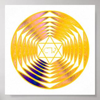 TEA Sigil Of The Aethyr Of Higher Self Poster