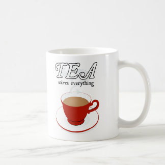 Tea Solves Everything Mugs