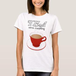 Tea Solves Everything T-Shirt