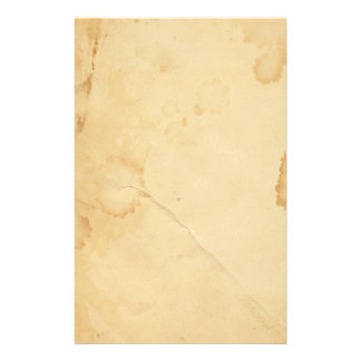 Tea Stained old paper Stationery