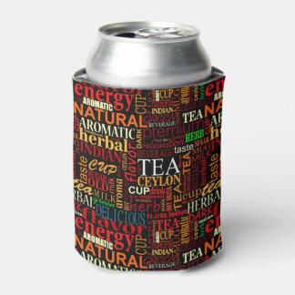 Tea tags can cooler