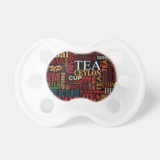 Tea tags pacifier