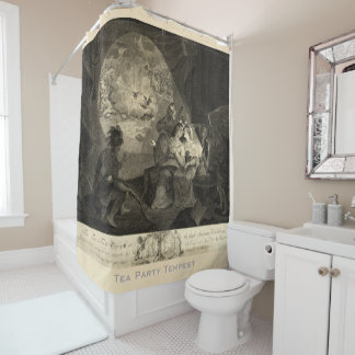 tea tax tempest alternative view shower curtain