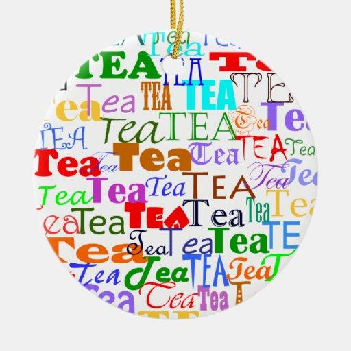 Tea Tea Tea! Christmas Ornaments