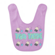 Tea Time Baby Bib