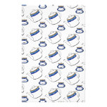 Tea time background stationery