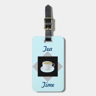 Tea Time Bag Tag
