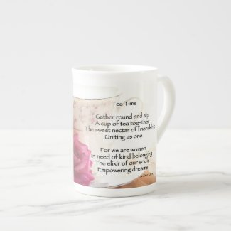 Tea Time Bone China Mug