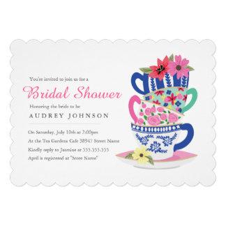 Tea Time Bridal Shower Invitation