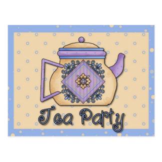 Tea Time Cards, Postage, Tees, GIfts Postcard