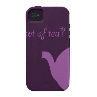 Tea Time Vibe iPhone 4 Covers