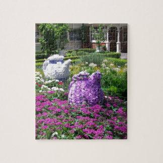 Tea Time English Garden Puzzles