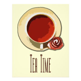 Tea Time Flyers