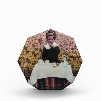 Tea Time for One Vintage Victorian Little Boy Award