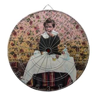 Tea Time for One Vintage Victorian Little Boy Dartboards