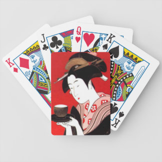 Tea Time Have a Nice Day and a Better Night With G Bicycle Playing Cards