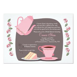 Tea Time Invitation