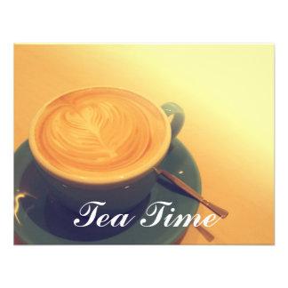Tea time personalized invite