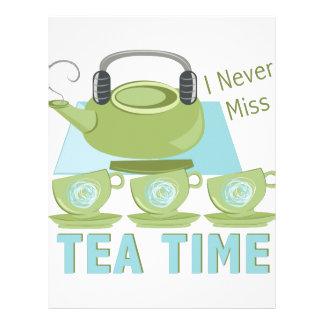 Tea Time Letterhead