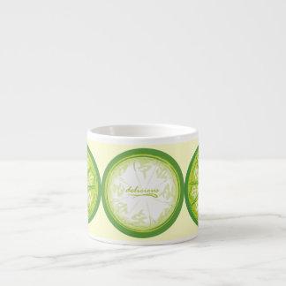 Tea Time Lime Espresso Cup