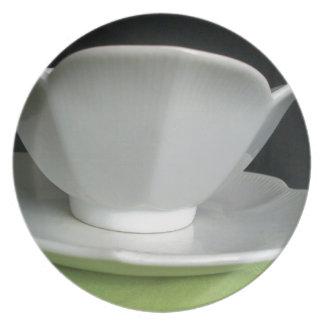 Tea Time Melamine Plate