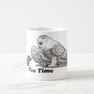 Tea Time Classic White Coffee Mug