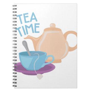 Tea Time Note Books