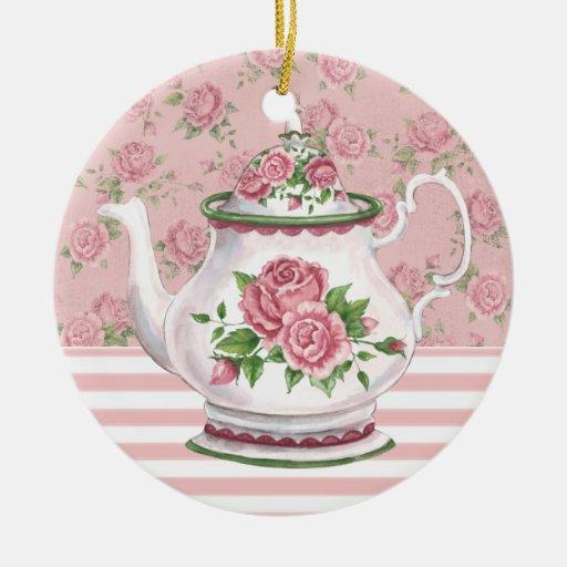 Tea Time Christmas Ornaments