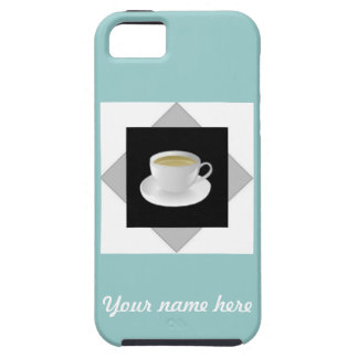 Tea Time Personalized iPhone 5 Case