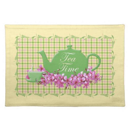 Tea Time Plaid Table Decor Placemat Zazzle : teatimeplaidtabledecorplacemat r51ded6ee86f742f9bde1e8d77698564a2cfku8byvr512 from www.zazzle.com size 512 x 512 jpeg 51kB