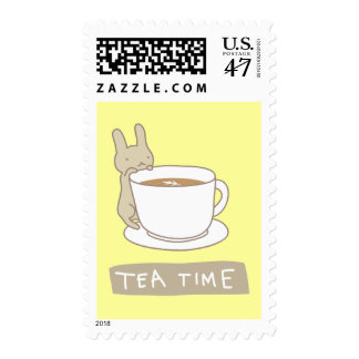 Tea time postage