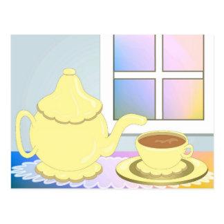 Tea Time! Postcard