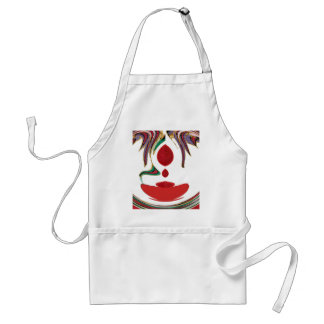 Tea Time Red Tea.png Adult Apron