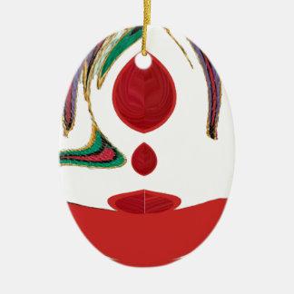 Tea Time Red Tea.png Ceramic Ornament