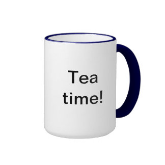 Tea time! ringer mug