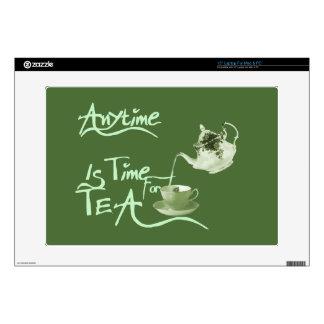 Tea Time Laptop Decal