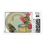 Tea Time Stamps