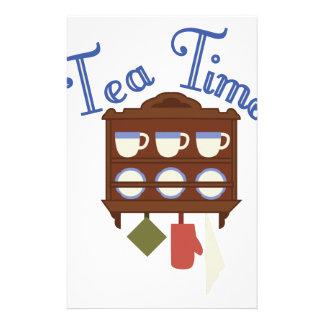 Tea Time Stationery
