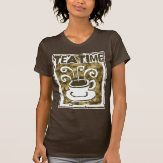 Tea Time Steamy Cup of Tea T Shirts