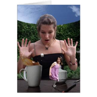 Tea Time Surprise Card