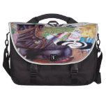 Tea time surrealism painting bag for laptop