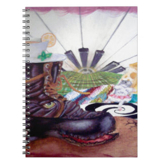 Tea time surrealism painting journals