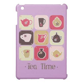 Tea Time Sweet Snack Desserts Happy Love Health iPad Mini Case