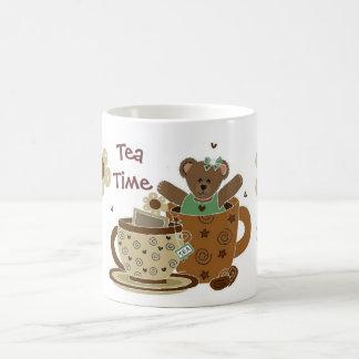 Tea Time Teddy Bear Cup