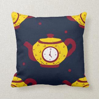 Tea Time! Throw Pillow