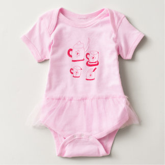 Tea Time TuTu Babygrow Baby Bodysuit