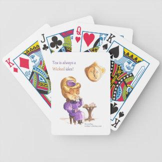 Tea Time Wicked Witches Baraja Cartas De Poker
