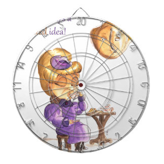 Tea Time Wicked Witches Dart Board