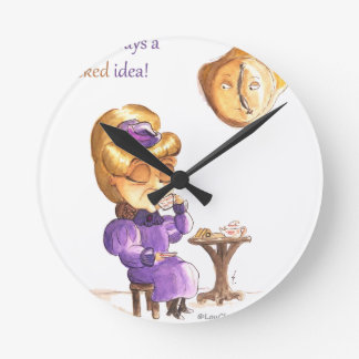 Tea Time Wicked Witches Reloj Redondo Mediano