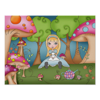 Tea Time with Alice - Poster